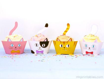 Animal-Themed Dessert Trays
