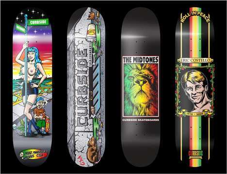Throwback Skate Decks