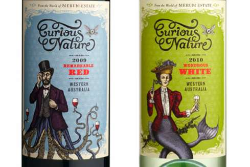 Curious Nature Wine Packaging