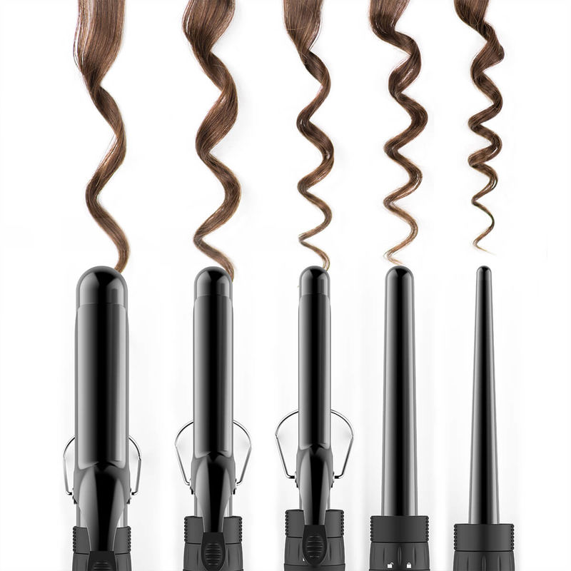 Interchangeable Hair Styling Tools Curling Iron