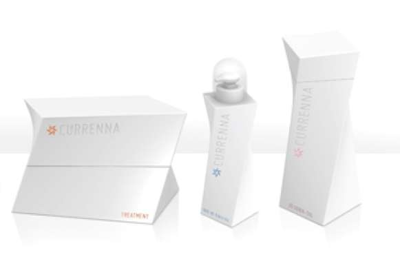 Currenna Hair Care Packaging