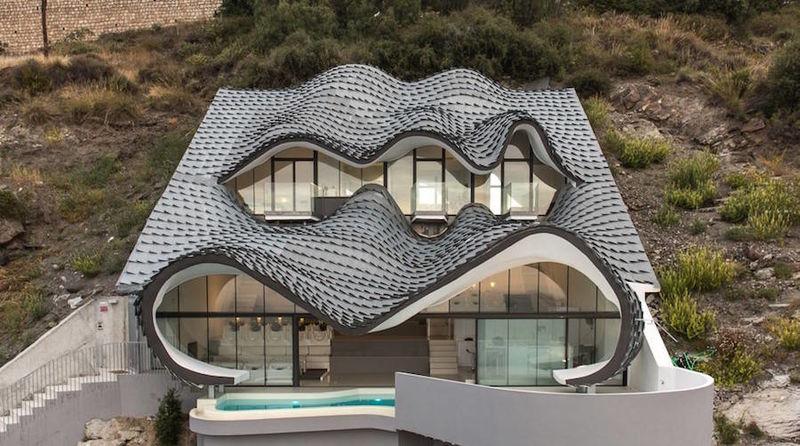 Whimsical Cliffside Homes