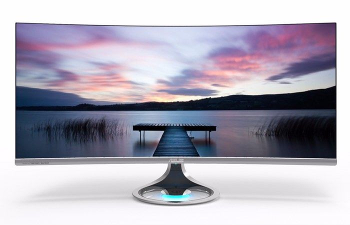 Distortion-Free Curved Screens