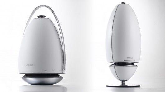 Curvaceous Audio Speakers