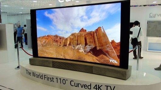 Massive Curved TVs