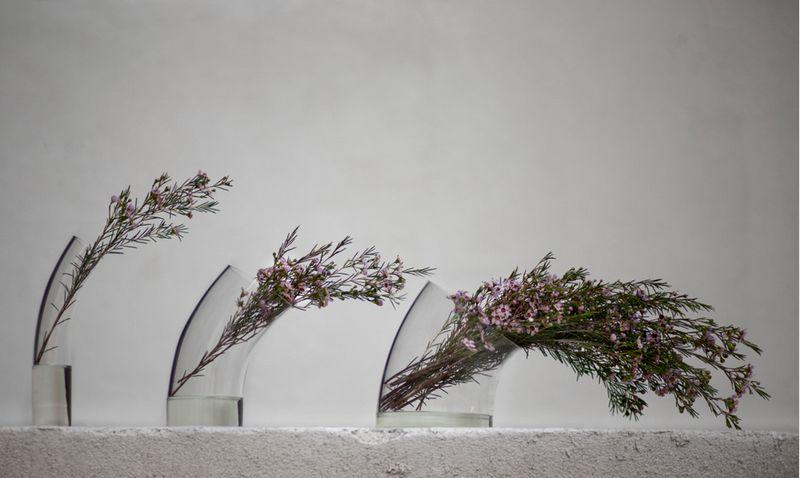 Wind-Blown Bouquet Holders