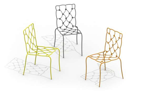 Wire-Upholstered Perches