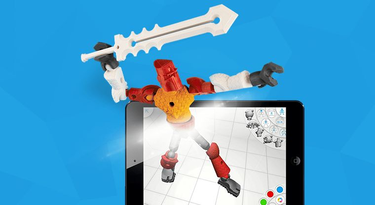 3D Printing Toy Apps