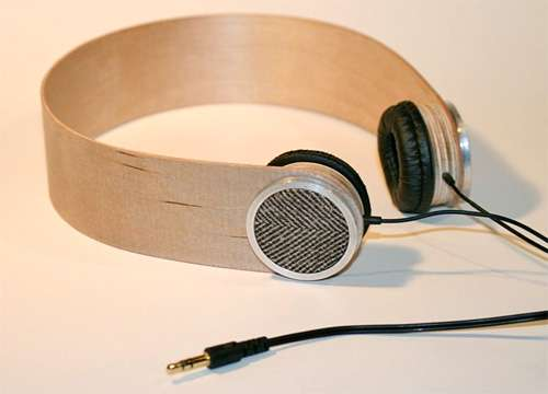 Simple Wooden Headsets
