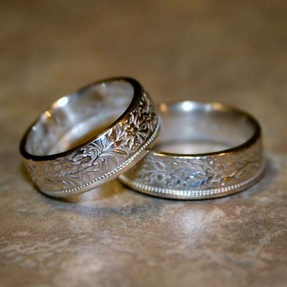 Custom Coin Rings