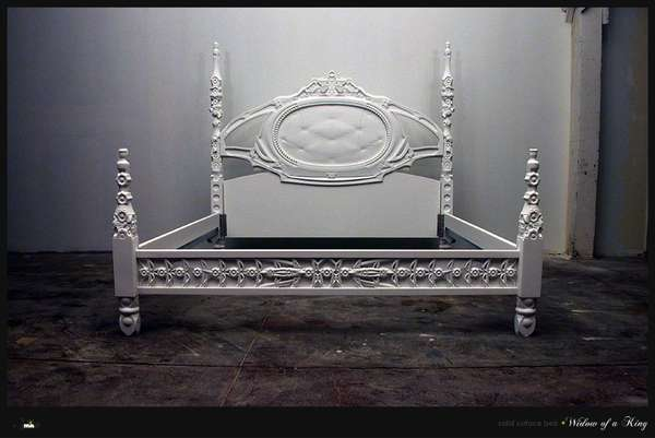 custom corian bed frames