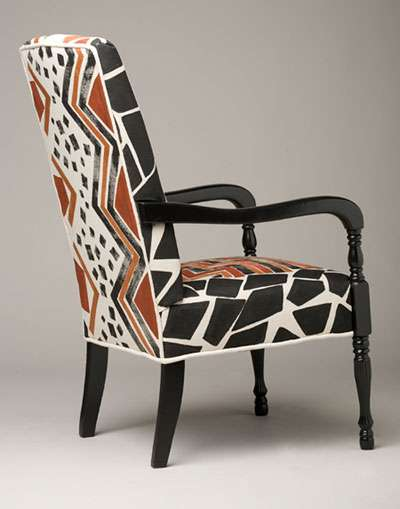 Painted Fabric Seats