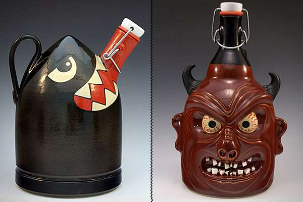 Character-Filled Beer Jugs
