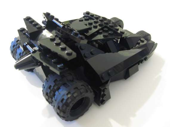 Custom LEGO Batmobile Tumbler