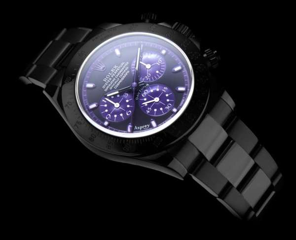 Manly Purple-Toned Timepieces