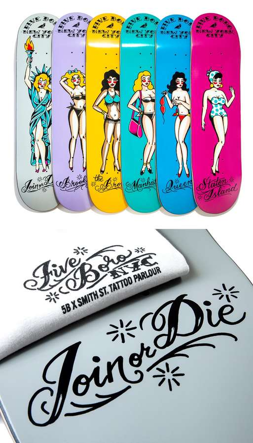 Scandalous Skateboard Decks