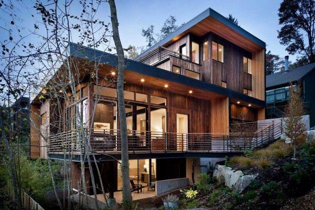 Sloping Arboreal Residences