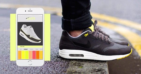 Color-Shifting Sneakers