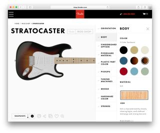 Customizable Guitar Platforms