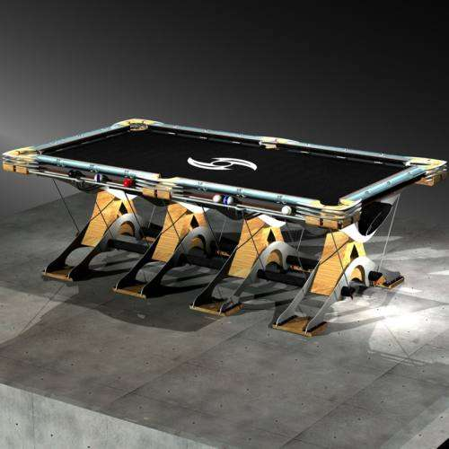 Futuristic Billiard Tables
