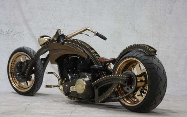 Studded Steampunk Bikes