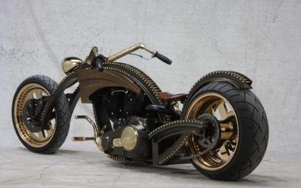 Studded Steampunk Bikes