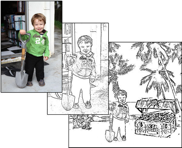 Customized Coloring Books