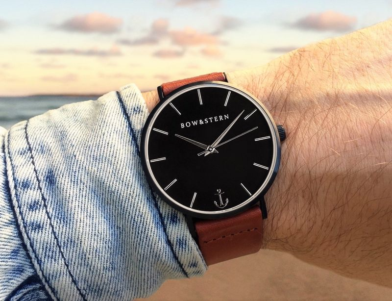 Customizable Masculine Timepieces