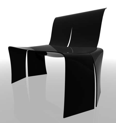 Sleek Cutout Seating