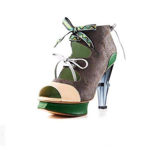 Subtly Style-Meshed Shoes