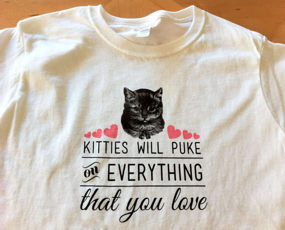 Vulgar Cute Kitten Tees