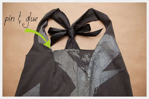 DIY Bow Tie Tanks