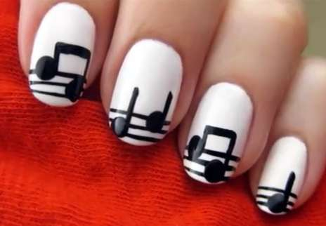 Painted Musical Fingertips