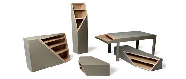 Sliced-Off Furniture