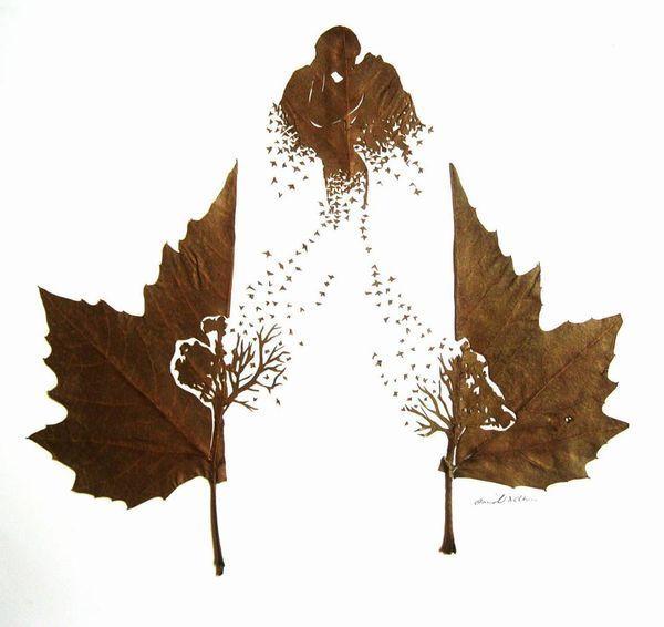 Cutout Leaf Artworks