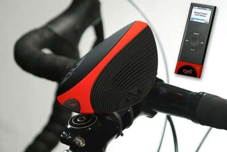 Wireless iPod Speaker For Bikes