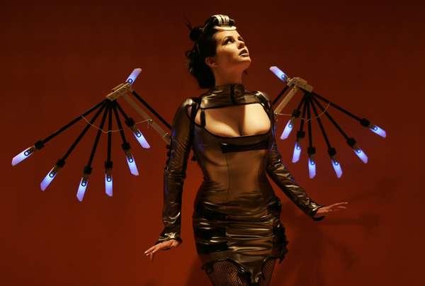 Mechanical Angel Wings