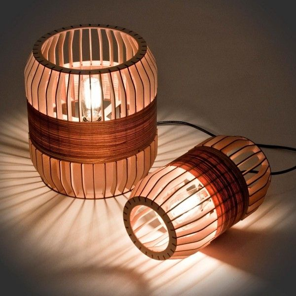 Shuttered Lantern-Like Lighting