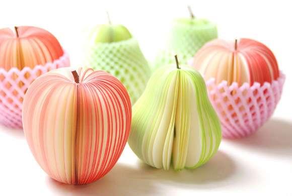 Fruity Sticky Notes