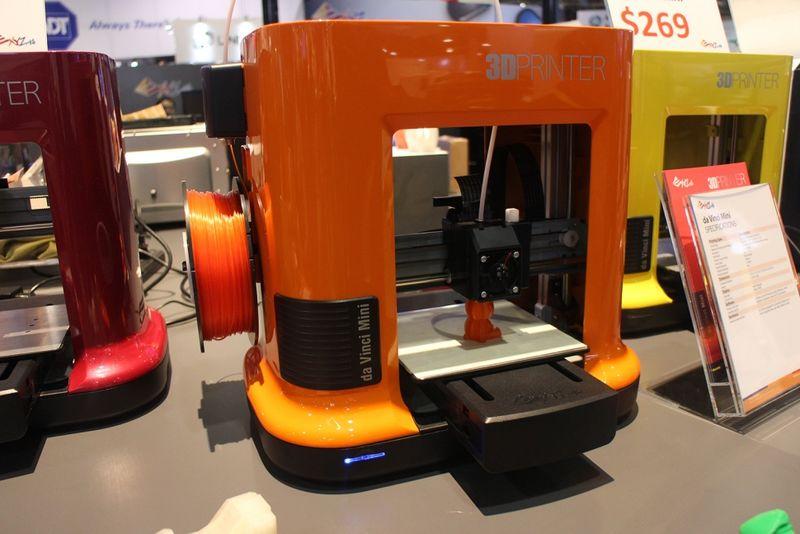 Space-Saving 3D Printers