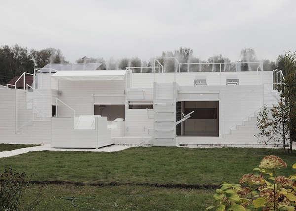 All-White Summer Homes