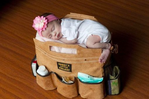 Masculinized Diaper Carriers