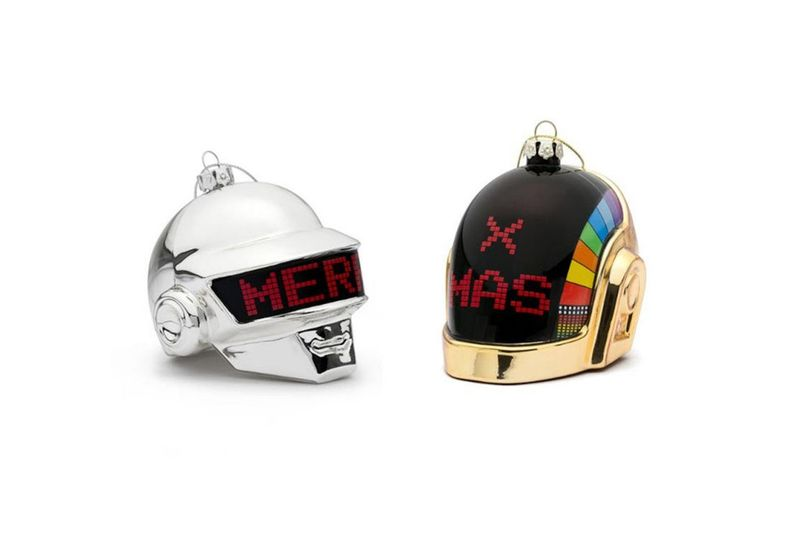 trendhunter.com - By: Riley von Niessen - Iconic Music Duo Holiday Collections : Daft Punk merchandise