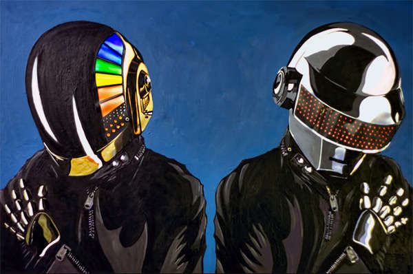 Dashing Electronic Duo Paintings