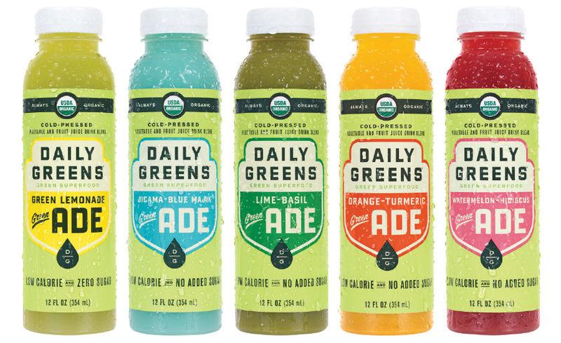 Green Lemonade Beverages