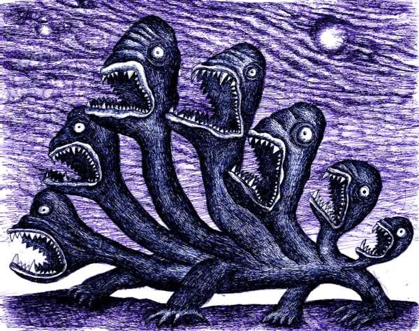 Moving Monster Portraits