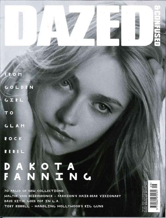 Dakota Fanning Dazed & Digital