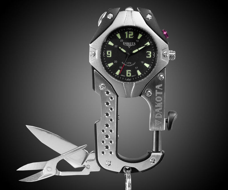 Utility Tool Watch Keychains Dakota Watch