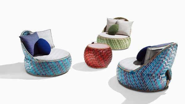 Food Packaging-Weaved Furniture