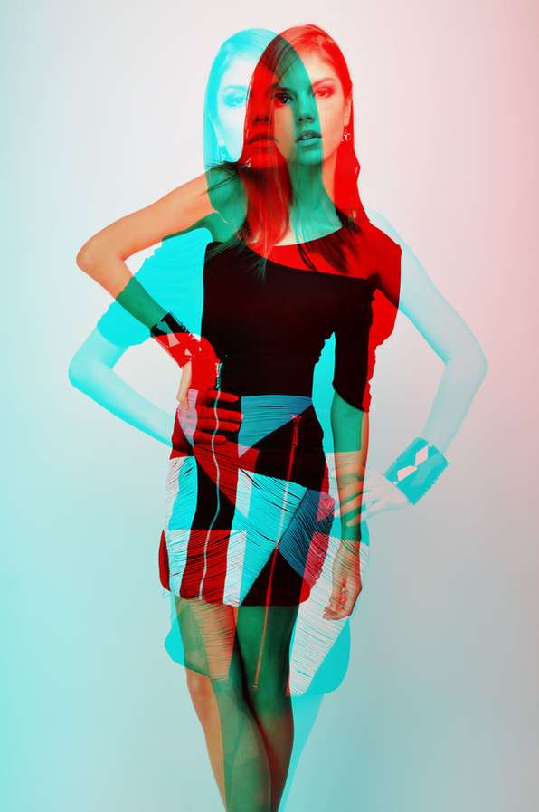 3D-Inspired Fashion Shoots